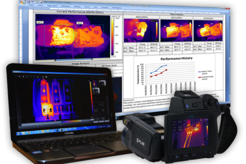 Thermal imaging services by B C Electrical Services in Corby